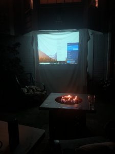 using project to watch movies